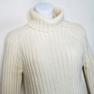 Abercrombie & Fitch Foldover Turtleneck Sweater
